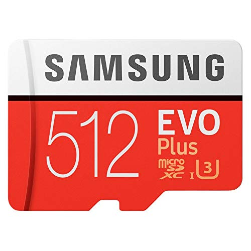 Samsung EVO Plus 512GB microSD + Adapter, MB-MC512HA/EU