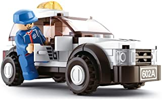"Sluban Safety Car ""Formula 1"" Building Kit (96 Pieces)"
