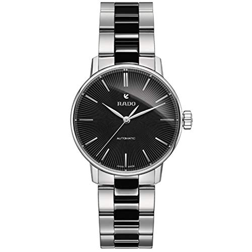 Price comparison product image Rado Girls' Classic Swiss-Automatic Watch with Stainless-Steel Strap,  Two Tone,  16 (Model: R22862152)