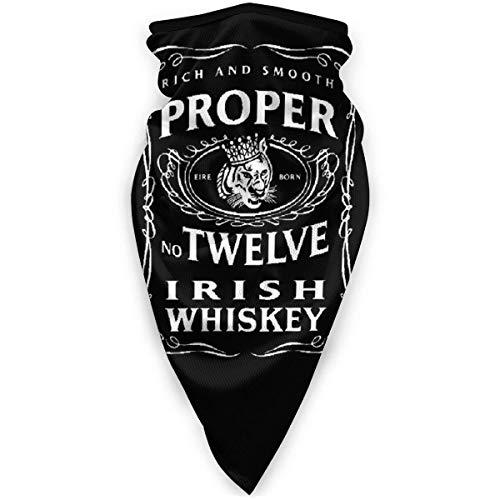 Perilla Fire Proper 12 Irish Whiskey McGregor inspirierte winddichte Sportmaske Outdoor-Sportmaske winddichte Skimaske für Damen und Herren