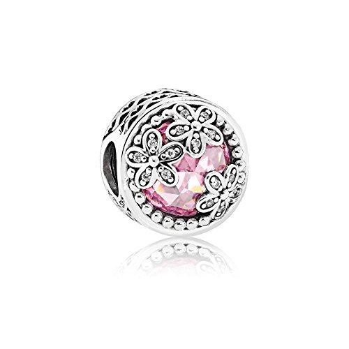Pandora Damen -Bead Charms 925_Sterling_Silber zirkonia 792055PCZ