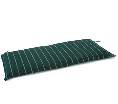 Hambiente Hambiente 2er Bank Auflage ca. 126 x 50 x 8 cm waschbar mit Reißverschluss grün VE74