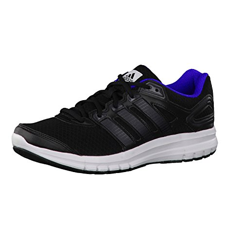 adidas Originals Herren Duramo 6 Laufschuhe, Schwarz (Core Black/Core Black/Night Flash S15), 42 2/3