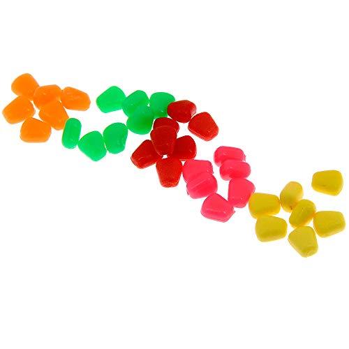 DNA 125pc Carp Match Fishing Fake Bait Set Pop Up Artificial Sweet Corn & Tackle Box