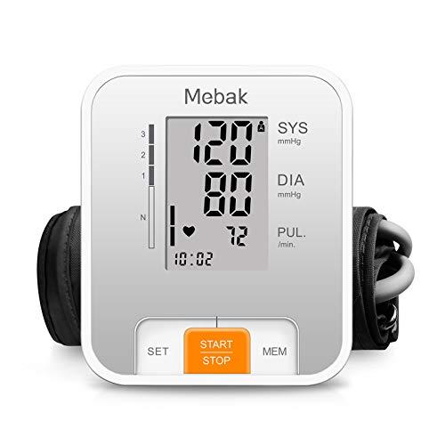 Blood Pressure Monitor Upper Arm, Mebak Automatic Digital BP Machine...