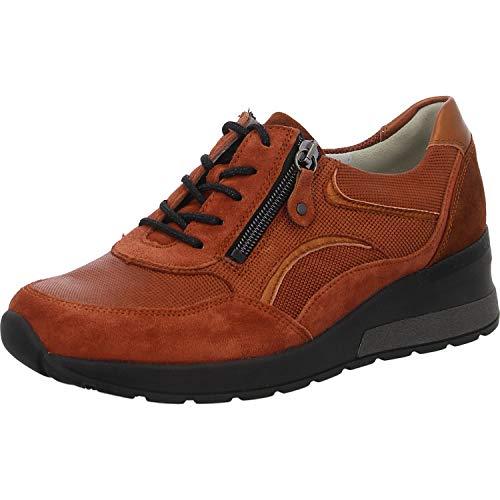 Waldläufer Damen Keil-Sneaker Weite H Orange, Schuhgröße:EUR 38