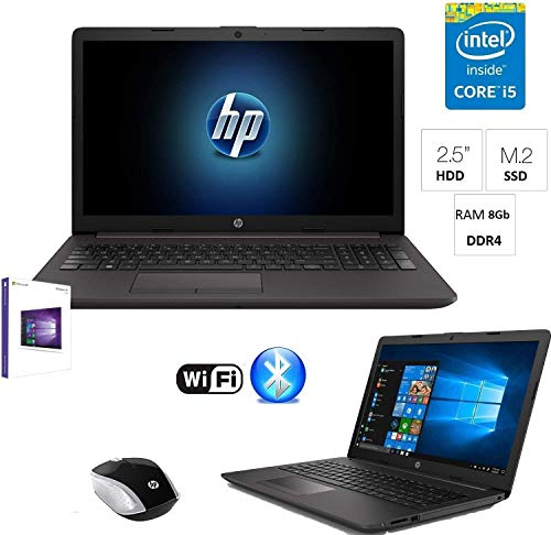 Notebook Laptop Hp G7 Intel i5 8265U 3,7ghz,8Gb Ddr4,Ssd M.2 250GB+HDD 500Gb,Display Full hd 15.6