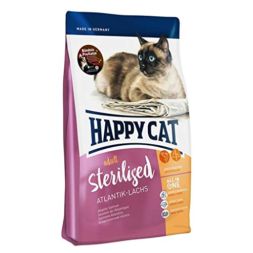 Happy Cat Supreme Sterilised Atlantik-Lachs, 4 kg
