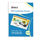 Hot Thermal Laminating Pouches 11.5x17.5-100 Sheets 3.5Mil for Sealed 11x17 Inches Document Uinkit