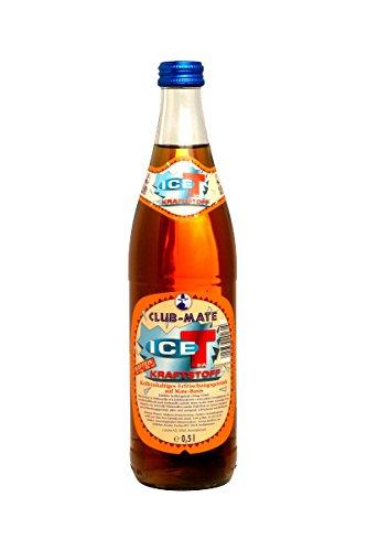 6 Flaschen a 0,5 L Club Mate Kraftstoff Tee Clubmate inc. 0.90€ MEHRWEG Pfand