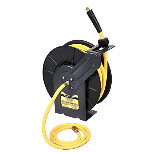 """Amazon Commercial GAC-HR-004 Air Reel Retractable 3/8"""" Inch x 50'"""