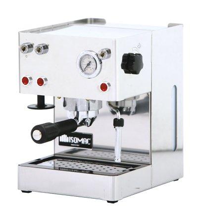 ISOMAC new giada Espressomaschine aus Edelstahl