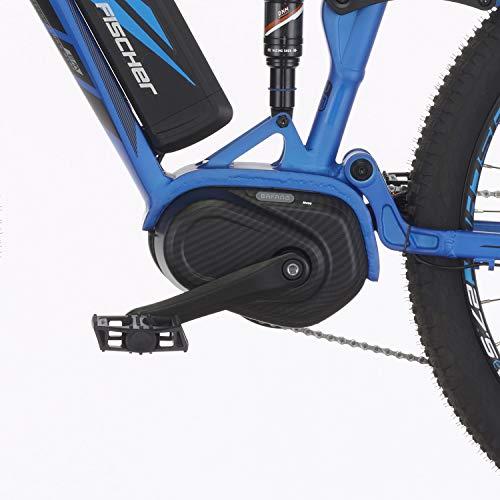 E-MTB FISCHER  MTB EM 18621 (2019) blau matt E-Mountainbike Bild 3*
