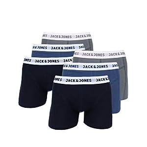 Calzoncillos Tipo b/óxer para Hombre JACK /& JONES 4 Unidades, algod/ón