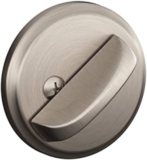 Schlage B80 619 12-287 10-116 134 N N SL One-Sided Deadbolt, Satin Nickel
