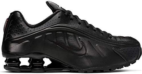 Nike Damen Shox R4 Leichtathletikschuhe, Mehrfarbig (Black/Black/Black/Max Orange 000), 37.5 EU