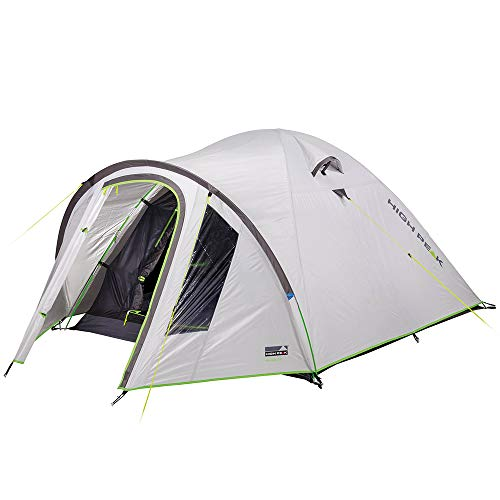 High Peak Nevada 3.0 Zelt Nimbus Grey 2021 Camping-Zelt