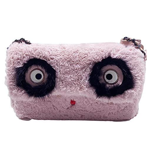 Tosca Blu Borsa linea funky eyes rosa ecopelliccia