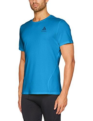 Odlo MC Imperium T-Shirt Homme, Mykonos Blue, FR : S (Taille Fabricant : S)