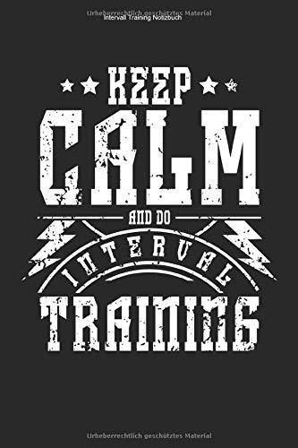 Intervall Training Notizbuch: 100 Seiten | Karierter Inhalt | Sport Team Fitness Sportart Cardio Workout Ausdauer Ausdauersport Geschenk