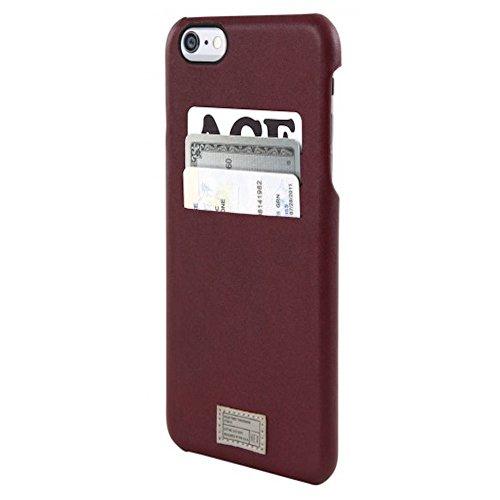Hex Protective - Funda Tipo Cartera para iPhone 6+/6S+, empaque al por Menor, Color Rojo marroquí