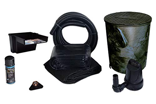 HALF OFF PONDS - Savio Pond Free 1200 Waterfall Kit - 5 ft by 20 ft PVC Liner,...
