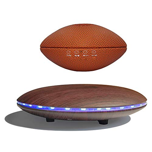Levitating Speaker, Infinity Orb Floating Speaker Bluetooth 5.0 Magnetic,Football Style 3W Portable...