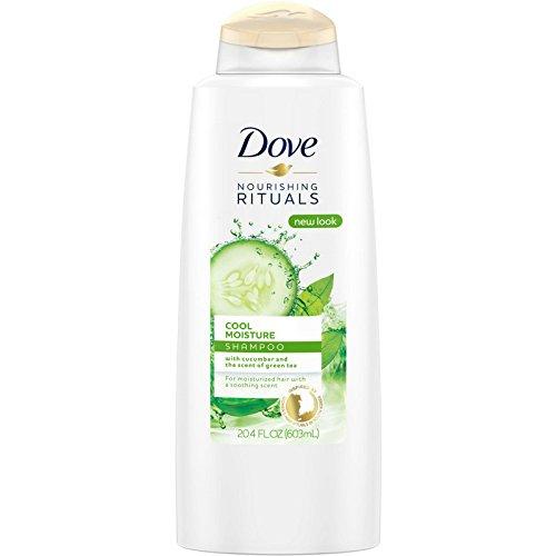 Dove Nourishing Rituals Cool Moisture Shampoo 20.4 oz (Pack of 2)