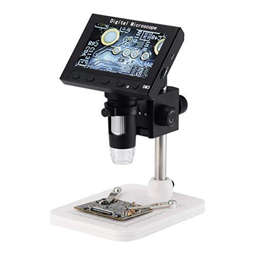 AYH Corneliaa-UK Profi 4.3-Zoll-Screen-Display Digital USB Mikroskop Elektronenmikroskops 2Mp USB-Digitalkamera Mikroskopendoscope dsnmm