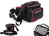 Nomura Narita Lure Bag With Tubes 20 x 16 x 17 cm Carryall Luggage Tackle Tasche Kunstködertasche...