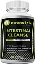 10 Day Intestinal Cleanse Supplement Colon & Detox Cleanse with Black Walnut, Wormwood Powder & Cranberry Extract Advanced Formula for Digestive System Health 60 Capsules by Neonutrix