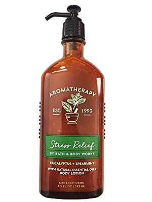 Bath & Body Works Aromatherapy Stress Relief - Eucalyptus + Spearmint Body Lotion, 6.5 Fl Oz