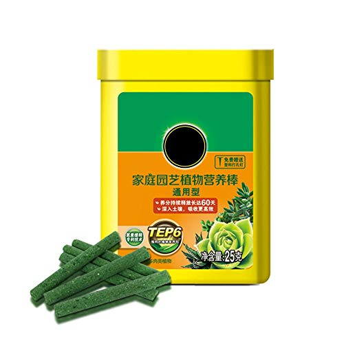 Indoor Plant Fertilizer - Plant Fertilizing Spikes for Give Continuous Feeding to All Flowering and Foliage Houseplants