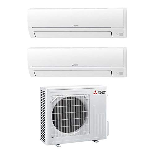 Mitsubishi Electric MXZ-2HA50VF Linea Smart, Set climatizzatore Dual Split a Parete MXZ-2HA50FV...