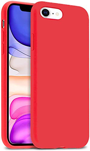 IceSword - Carcasa de silicona para iPhone SE (actualizada 2ª generación), gel de silicona líquida, carcasa a prueba de golpes, protección contra caídas 2020 ' iPhone SE -