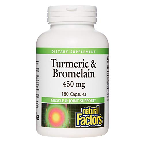 Turmeric & Bromelain (450mg) 180 caps