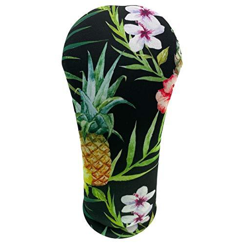 BeeJo's Hawaiian Golf Club Head Covers American Made (Hawaiian Black Print, Driver)
