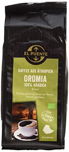 El Puente Äthiopien-Kaffee Oromia Bohne,1er Pack (1 x 250 g)