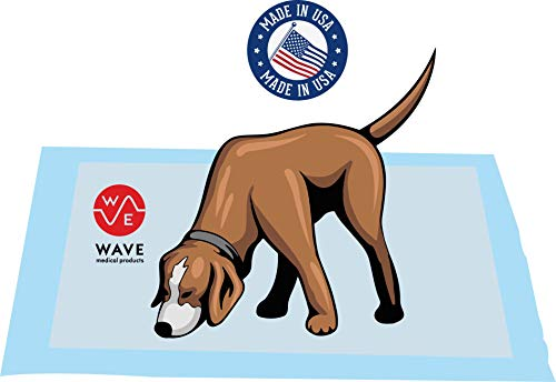 Wave Medical Products 150 Ultra Absorbent Pet Training and Puppy Pads, 23