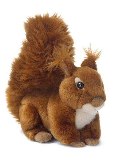 WWF Plüschtier Eichhörnchen (15cm) 2 Varianten sitzend liegend (liegend)