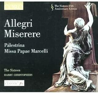 Allegri - Miserere; Lotti - Crucifixus; Palestrina - Stabat Mater Dolorosa by The Sixteen (2003-10-20)