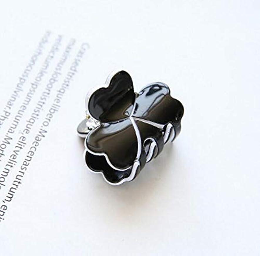 疎外するスピン紛争HuaQingPiJu-JP 1Pc DIYマジックヘア女性の女の子ヘアピンヘアクリップディナーパーティーヘアスタイルツールアクセサリー(ブラック)