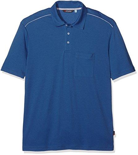 Schneider Sportswear Mathis Polo pour Homme 50 Bleu - Indigo