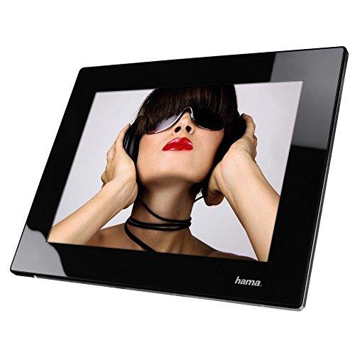 Hama Digitaler Bilderrahmen (24,64 cm (9,7 Zoll), SD/SDHC/MMC-Kartenslot, USB 2.0, Audio- und Videofunktion) schwarz