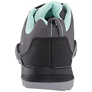 adidas outdoor Terrex AX3 Hiking Shoe - Women's Grey Five/Black/Clear Mint, 7.5