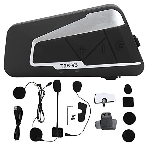 Socobeta con micrófono IP67 impermeable con botón PTT micrófono altavoz intercomunicador auriculares, para motocicleta, para interfaz USB, para llamada