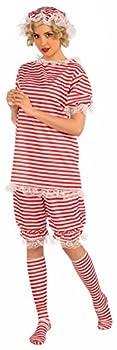 Forum Novelties Women s Roaring 20 s Beachside Betty Costume Red Large