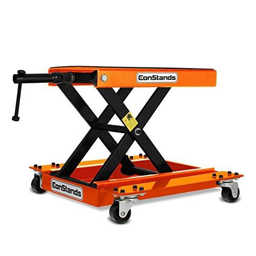 Rangierhilfe Hebebühne für Moto Guzzi California 1400 Eldorado ConStands M orange