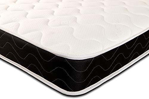 Starlight Beds - Shorty Single Sprung Memory Foam Mattress 75cm x 175cm (2ft6 x 5ft9 Shorty) product code 1117