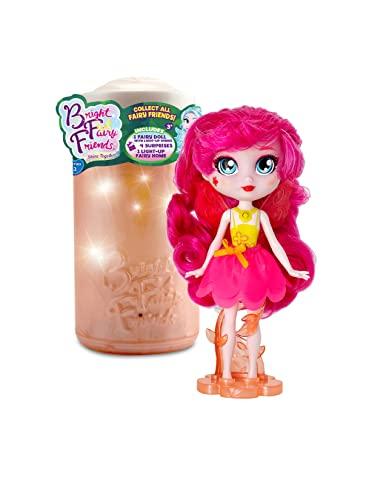 Hadas BFF - Muñecas con luces mágicas Bright Fairy Friends | Surtido sorpresa con tarro de luz y accesorios.